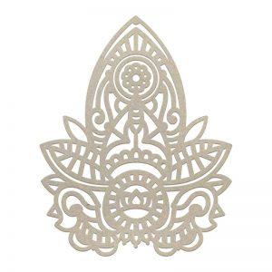 chipboard-henna-motif