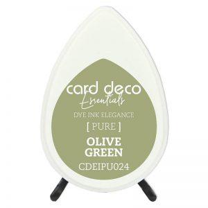 olive-green-card-deco-dye-ink