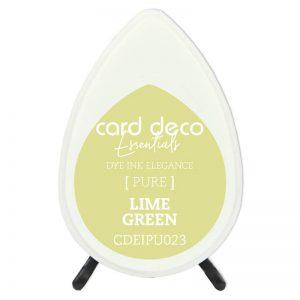 lime-green-card-deco-dye-ink