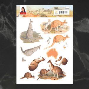 3D-decoupage-kangaroo