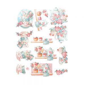 SB10340_3D_Diecut_Sheet_Flowers_Twist_Tea_Time