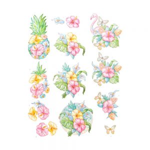 SB10362_3D_Diecut_Sheet_Happy_Tropics_Tropical_Flowers