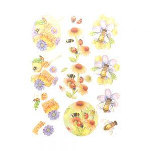 SB10368_3D_Diecut_Sheet_Buzzing_Bees_Sweet_Bees