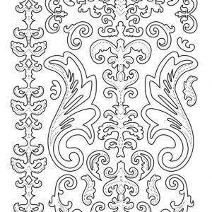 Sticker Swirls and Flourishes