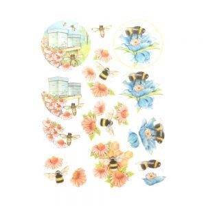 SB10367_3D_Diecut_Sheet_Buzzing_Bees_Working_Bees