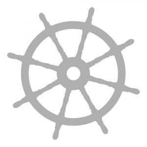 CO728323 Mini Die Ship Wheel
