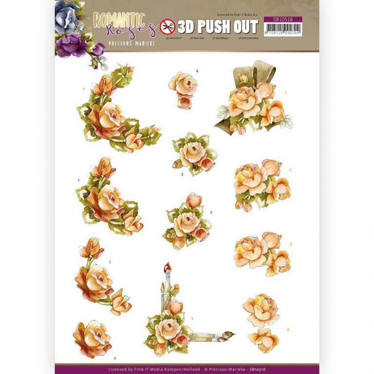 SB10516_Romantic Roses_ Orange Rose