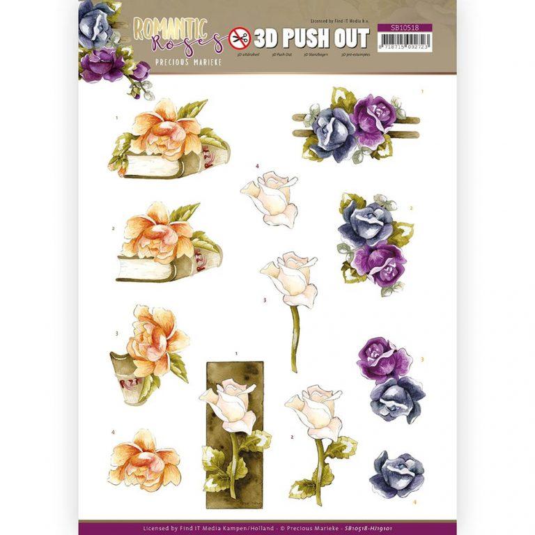 SB10518_Romantic Roses_ Multicolour Rose