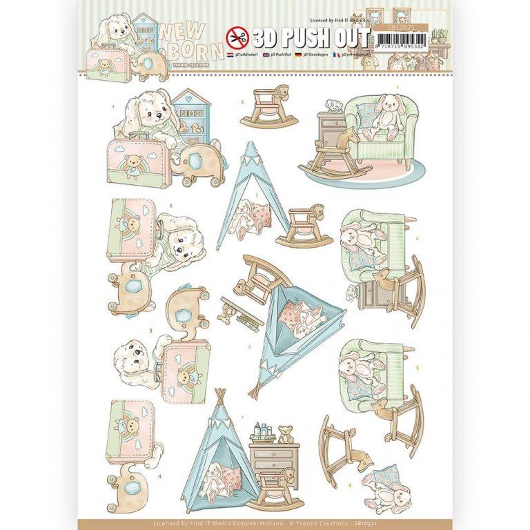 SB10521_Newborn _3d pushout_Baby Rocking Horse