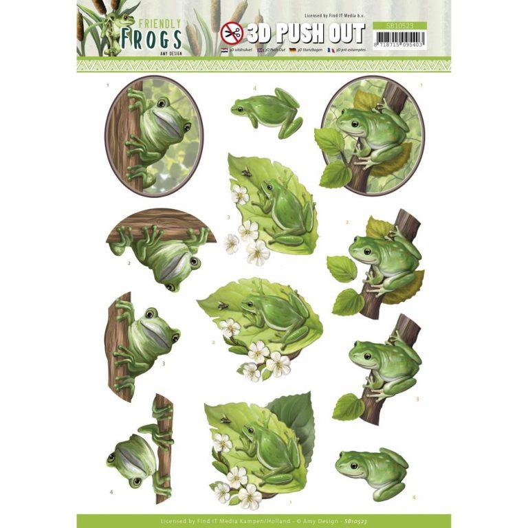 SB10523_Friendly Frogs_Tree Frogs