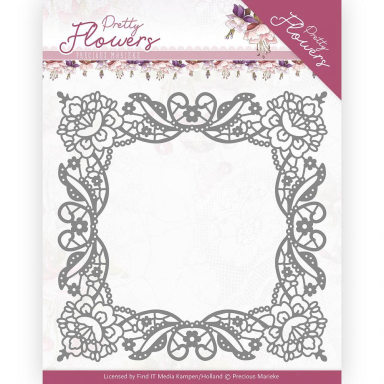 PM10188_Pretty Flowers_Lace Frame