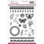 PMCS10046_Pretty Flowers_Clear Stamps