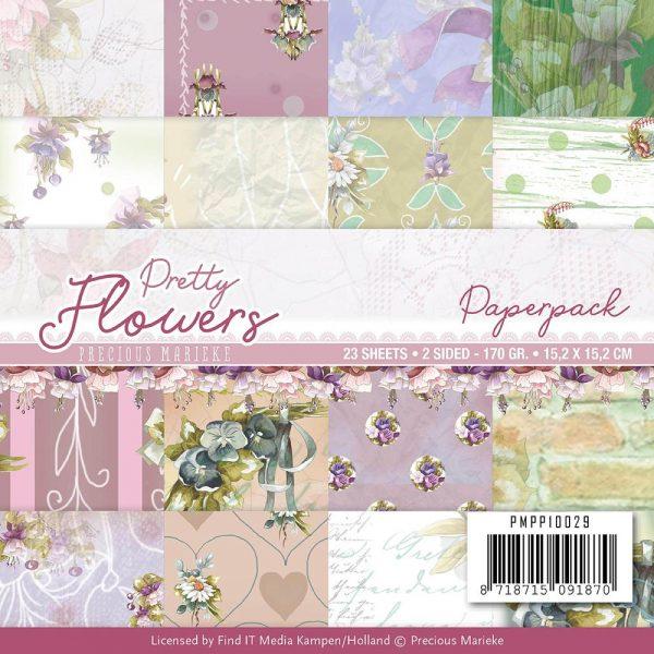 PMPP10029_Pretty Flowers_6x6 paper pad