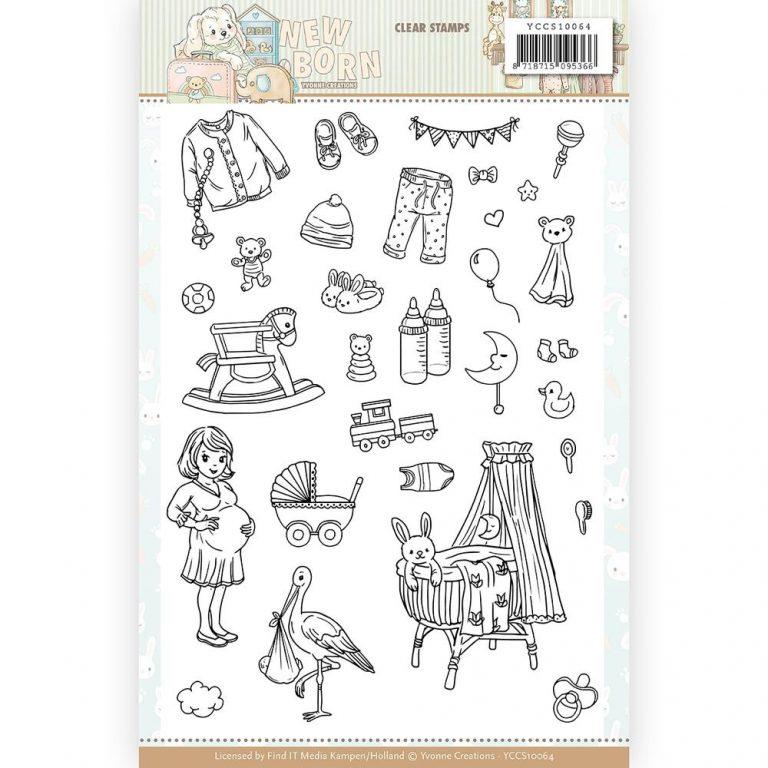 YCCS10064_Newborn_Clear Stamps