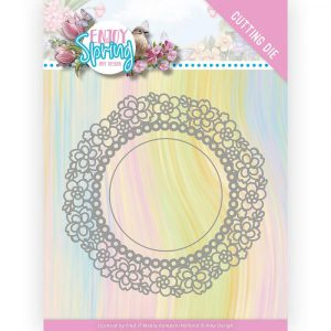 ADD10238_Enjoy Spring Flower Circle Die