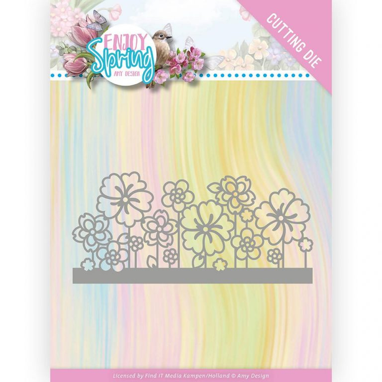 ADD10240_Enjoy Spring Flower Border Die