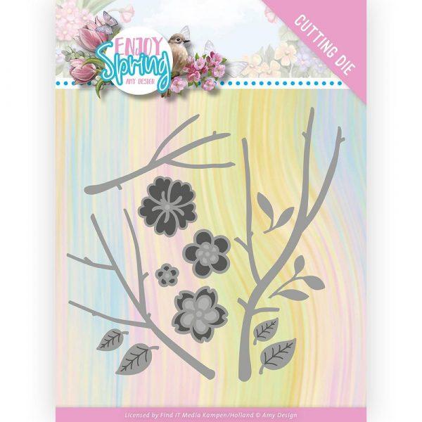 ADD10242_Enjoy Spring Blossom Branch Die