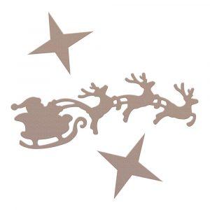 CO728567_Mini Die Santas Sleigh