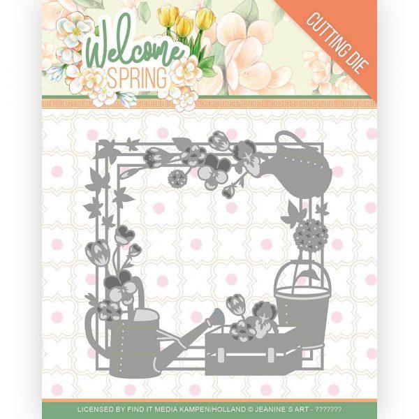 JAD10111_Welcome Spring - Spring Frame Die