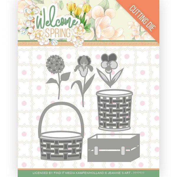 JAD10116_Welcome Spring - Spring Basket