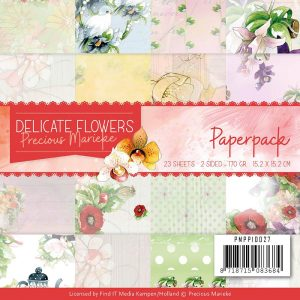 PMPP10027_Delicate Flowers Paper Pack