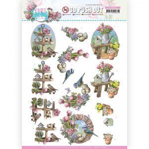 SB10541_Enjoy Spring 3D Spring Decorations
